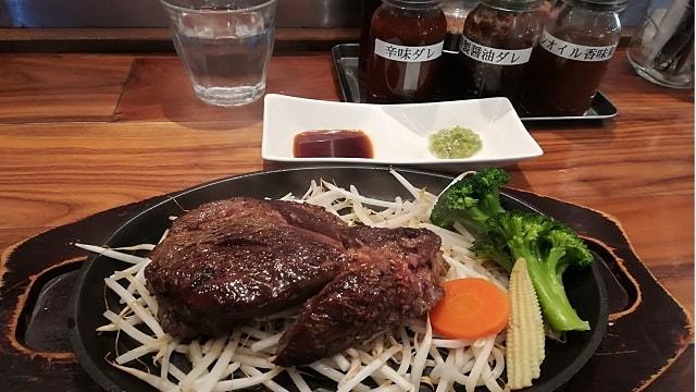 筋肉食堂牛リブロースステーキ