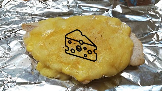 チーズONサラダチキンのレシピ
