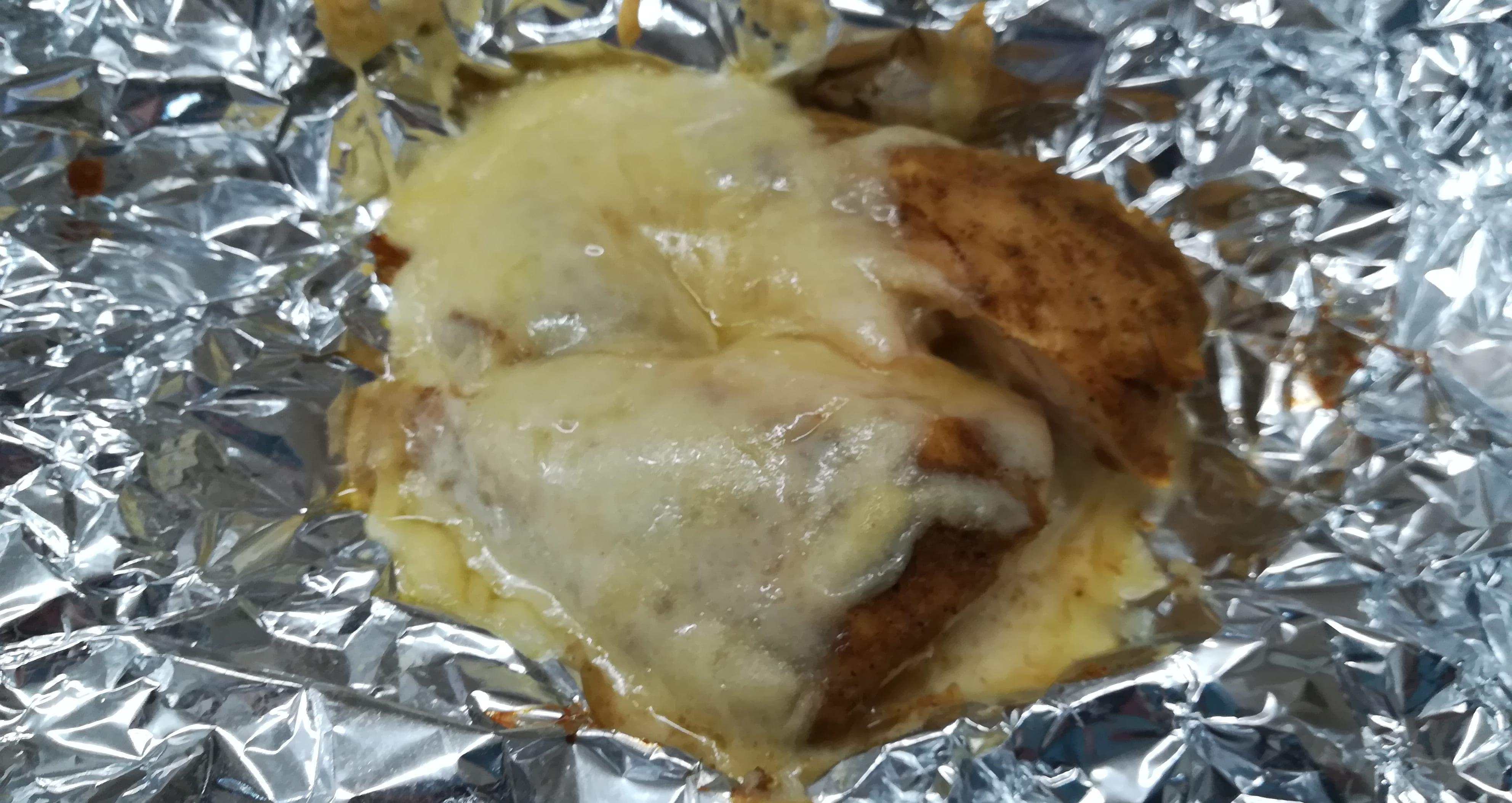 カレーサラダチキンチーズ